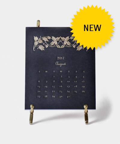 Thornwillow Limited Edition Desk Calendar