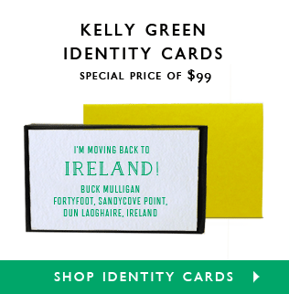 Green ID Cards $99.00